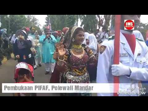 Pembukaan PIFAF Polewali Mandar
