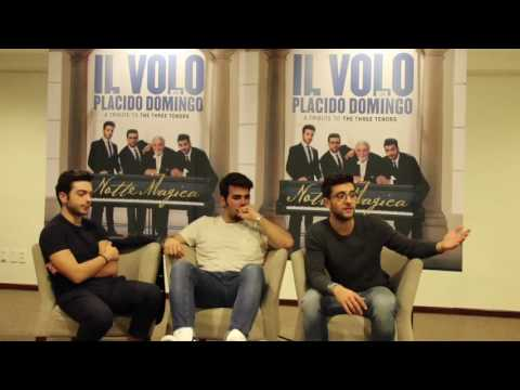 Il Volo interview to All About Il Volo - 2016