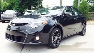 2014/2015 Toyota Corolla S Plus Exhaust, Start Up and In Depth Review