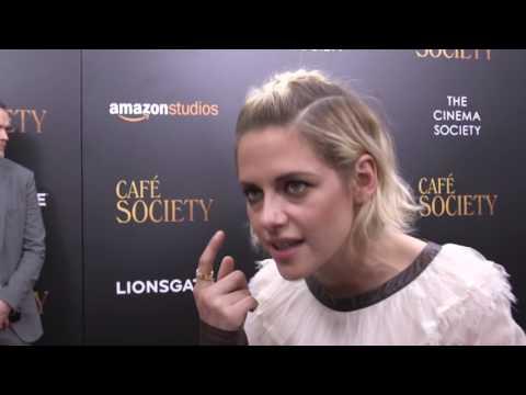 Café Society: Kristen Stewart Movie Premiere Interview