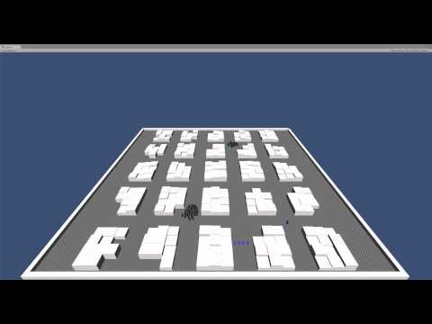 Potential fields prototype Unity