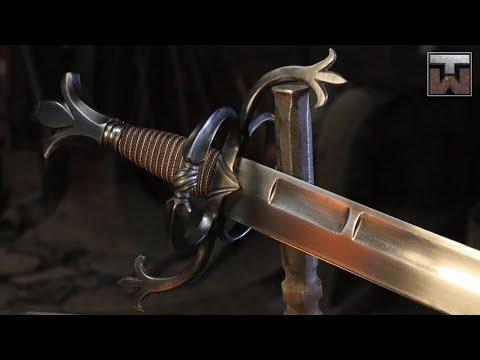 The Skalchion - Making A Sword For Skallagrim - Full Build