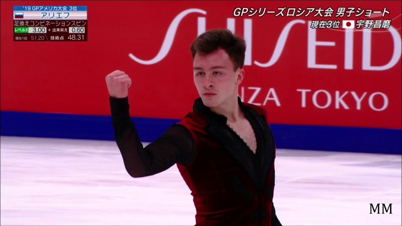 ドミトリー・アリエフ(Dmitri ALIEV) 2019 Rostelecom Cup SP - YouTube