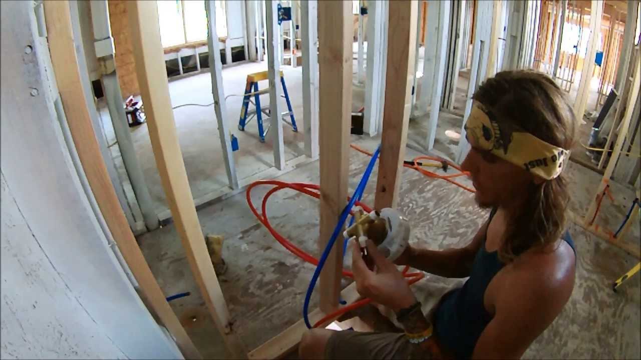 plumbing a toilet drain diagram 2000 chevy silverado fuse box tub / shower - rough in how to youtube