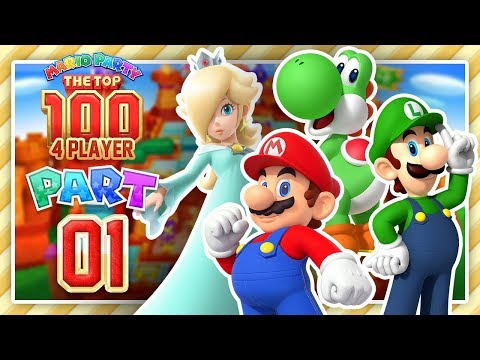 Mario Party The Top 100 - Part 1 - Minigame Match (4 Player)