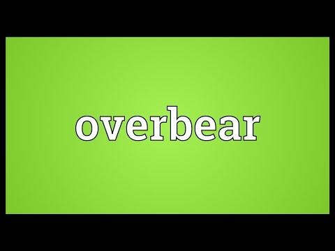 Header of overbear