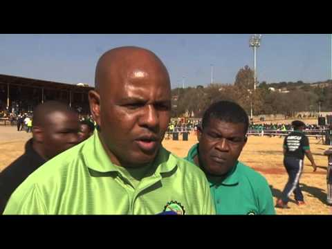 AMCU, Sticking To Its Wage Demands.