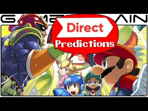 Nintendo Direct PREDICTIONS Discussion - Time for Smash Bros. Switch?! + Rumored Leaks (March 2018)