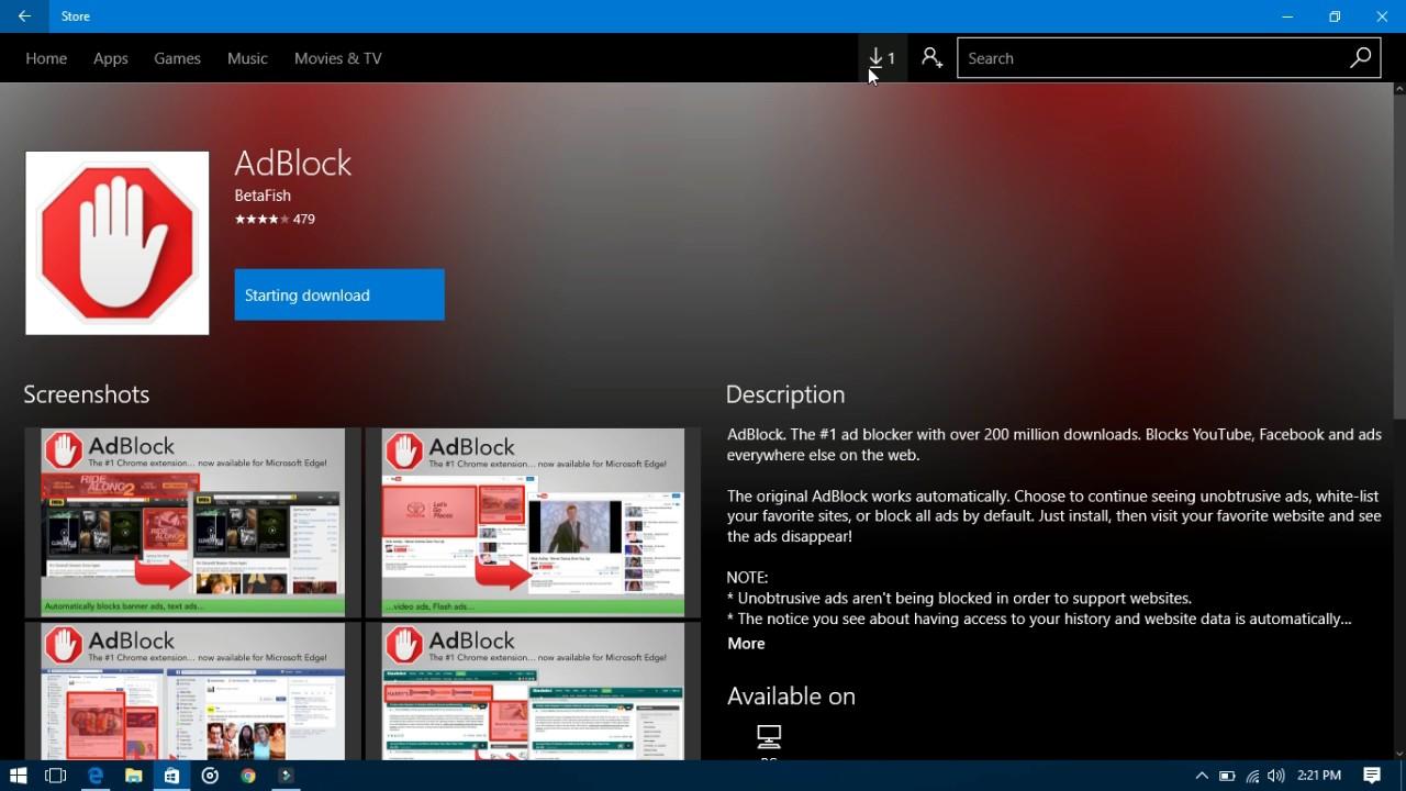 Adblocker Internet Explorer