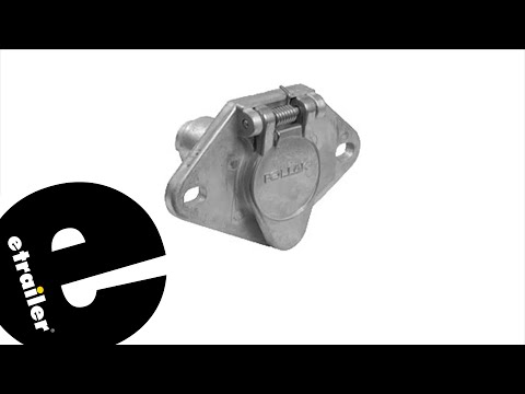 Etrailer | Pollak 4-Pole Round Pin Trailer Wiring Socket Review