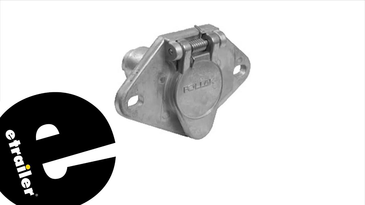 pollak 7 pin wiring diagram etrailer pollak 4 pole round pin trailer wiring socket review  pollak 4 pole round pin trailer wiring