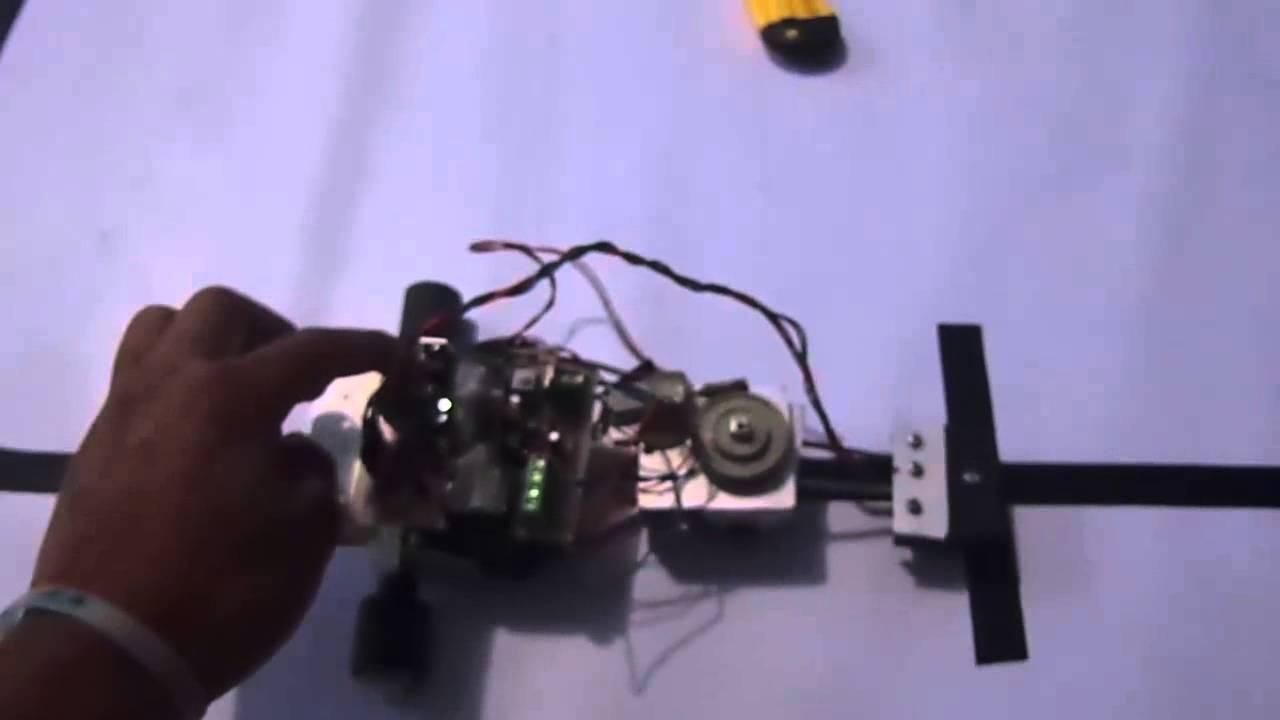 Robot seguidor de linea velocista youtube