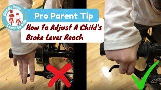Point Children/'s Brake Lever Netted for Kids Left and Right