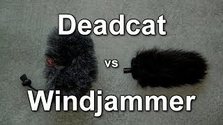 Rode Deadcat vs Rycote Mini Windjammer