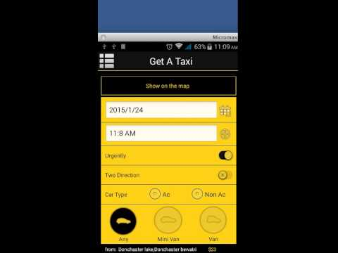 App for Taxi - Android Template - YouTube - android template