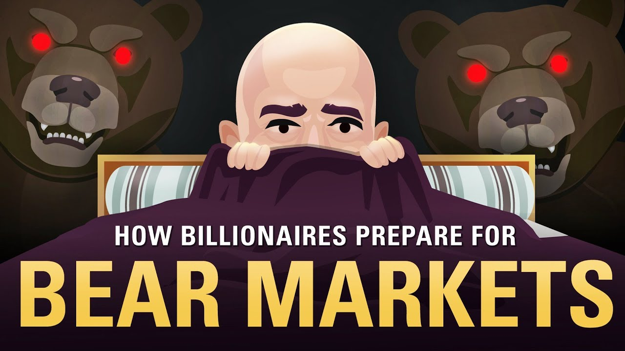 How are billionaires preparing for the next bear market?