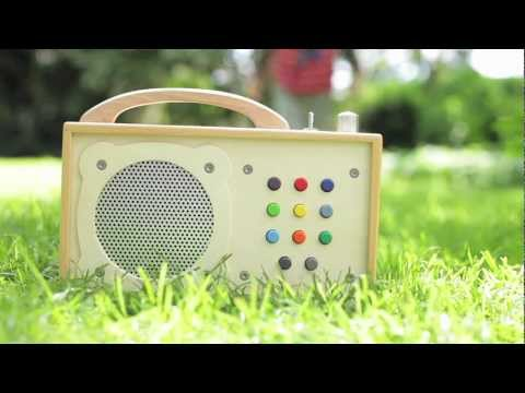 hörbert - mp3-Player für Kinder. Aus Holz. Made in Germany.