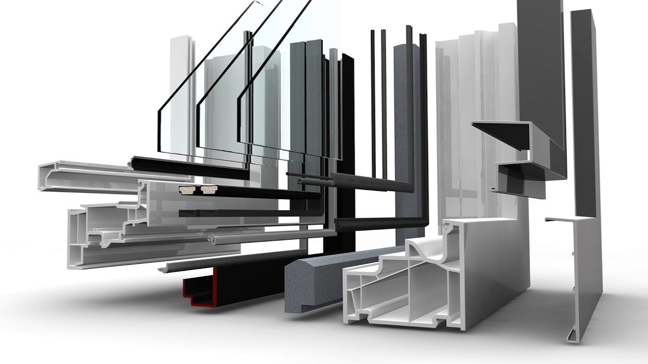 Kunststoff-Aluminium-Fenster KF 410 von Internorm - YouTube