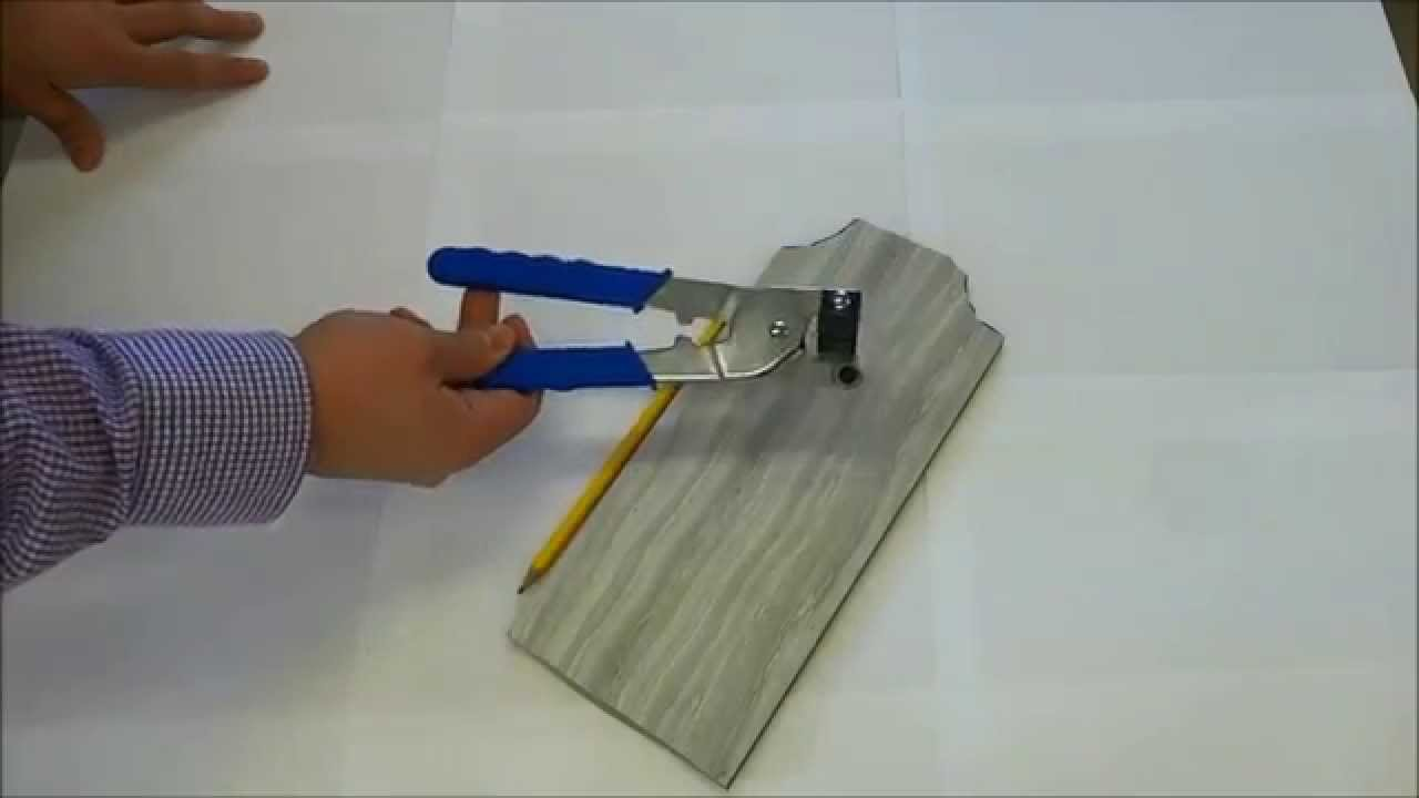 How To Cut Tile With Handheld Cutters