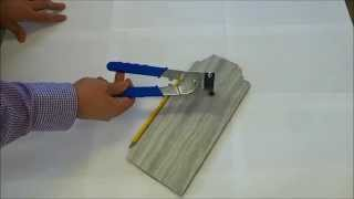 How To Cut Tile With Handheld Tile Cutters