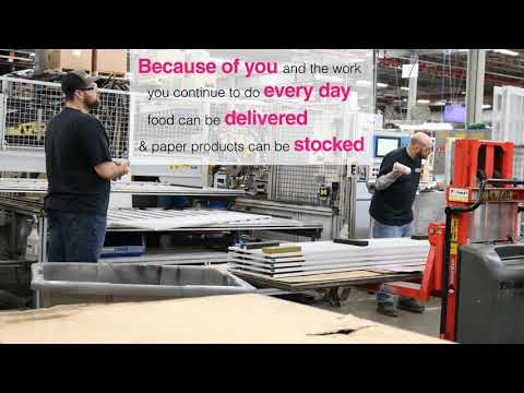 Thank you to our manufacturing team!