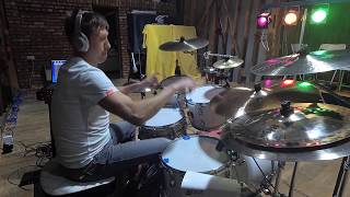 Andy Frost drum track for band Oktober.