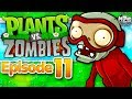 Plants vs. Zombies Gameplay Walkthrough - Episode 11 - Bobsled Bonanza! More Mini Games!