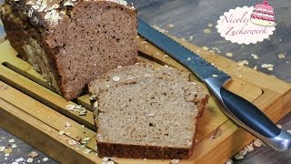 Roggen-Malzbier-Brot | lecker & malzig | BROT SELBST BACKEN ♥ | Nicoles Zuckerwerk