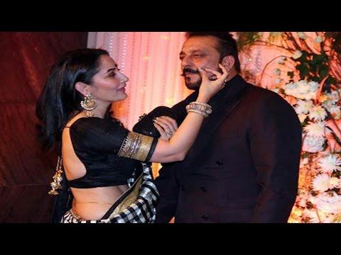 Sanjay Dutt & Manyatta FLIRT @ Bipasha Basu & Karan Singh Grover WEDDING