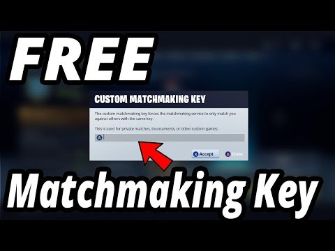 How to do custom matchmaking in fortnite switch