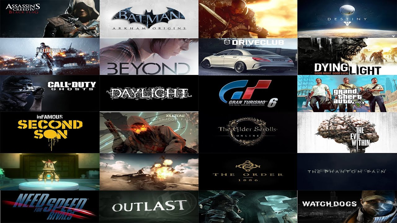 Top 25 Most Anticipated Upcoming Next Gen Games 2013 2014