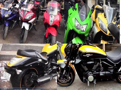 bike market-karol bagh||modified bikes ,old bikes||