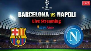 Sebelum menonton aktivkan dulu paket premiernya link live streaming https://m.vidio.com/live/6736-barcelona-vs-napoli-liga-champions-uefa #barcelona #napoli ...