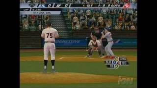 Major League Baseball 2K7 Xbox Gameplay - Zito