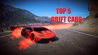 Need For Speed Payback - Top 5 Best Drift Cars