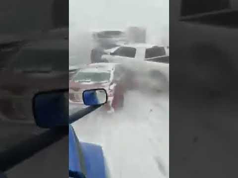 Lynch and Taco - Multi-Car Pileup On Snowy 1-70 Near Kansas City