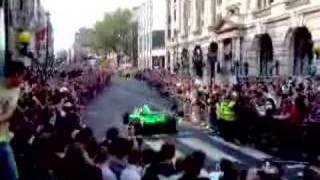Gumball 3000 (2007) Jason Plato in A1 GP car