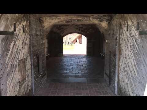Fort Macon Civil War Fort, Atlantic Beach NC Video Tour