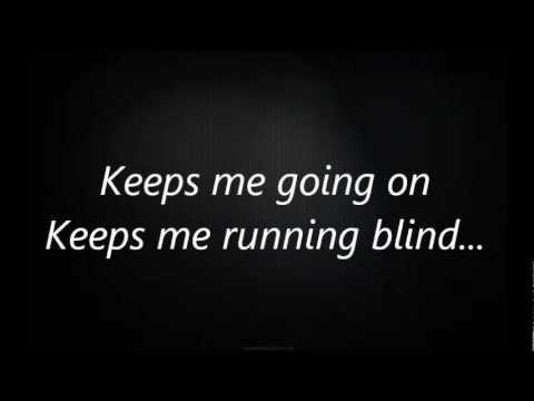 ''running blind''