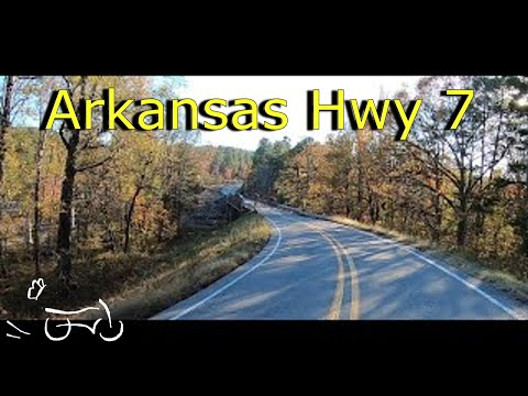 Motorcycle Road Trip From Ola To Hot Springs, Arkansas With Butterfly