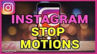 How to use Instagram STOP MOTION in Instagram stories