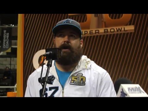 Carolina Panthers Ryan Kalil SB Opening Night