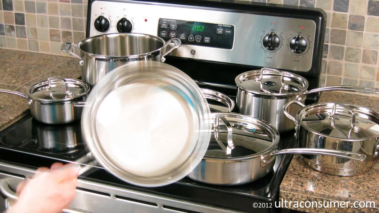 Cuisinart MultiClad Pro Cookware (MCP 12N) Review   YouTube