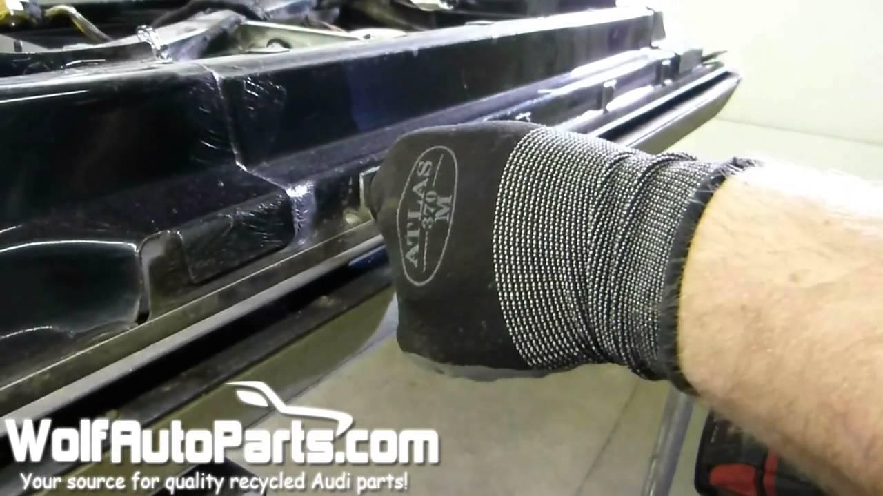 How To Remove Lower Door Molding Audi Allroad C5 2001