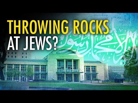 Pro-Palestine Student Says He'll Throw Rocks At Jews | Campus Unmasked