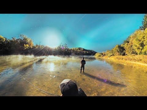 RIVER FISHING/KAYAKING/CAMPING (Buffalo River, Arkansas)