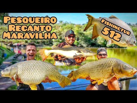 Recanto Maravilha - Dia difícil com troféus nos braços - Fishingtur na TV 512