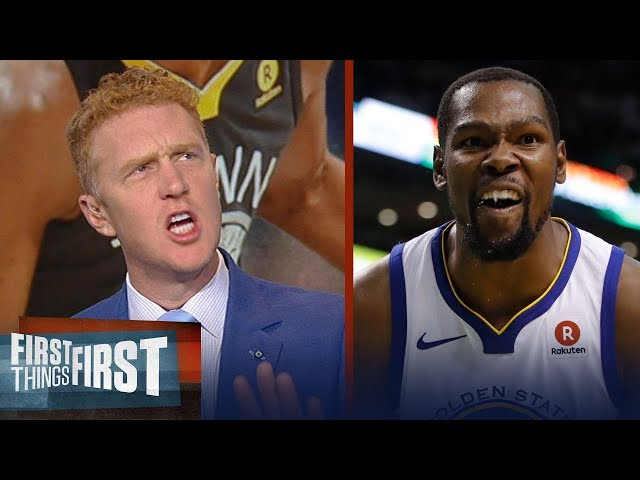 Brian Scalabrine rips Kevin Durant for his off-court drama, fake Tweets   NBA   FIRST THINGS FIRST