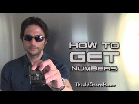 HOW TO GET HER NUMBER | 1 EASY TIP FOR GETTING DIGITS FROM ATTRACTIVE WOMEN!!! from YouTube · Duration:  4 minutes 55 seconds