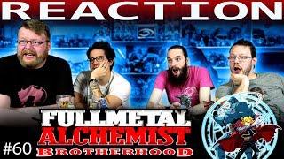 """Fullmetal Alchemist: Brotherhood Episode 60 REACTION!! """"Eye of Heaven, Gateway of Earth"""""""